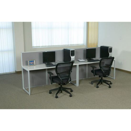 Modern Modular Partition 2 Person Office Workstation Office Screen (HY C9)