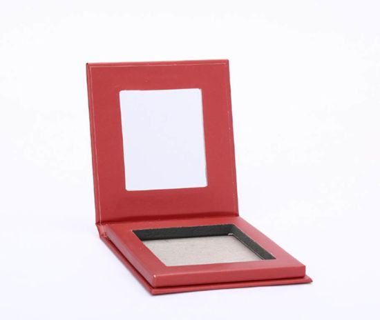 Paper Makeup Box Pressed Powder Box Eyeshadow Palette Box Packaging Box