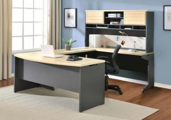 china modern office table design white luxury executive office desk