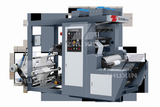 Four Six Color Flexo Printing Machine Has Two Sets of Heating Devices