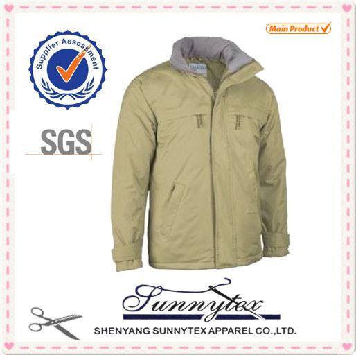 2017 Custom Men Winter Jacket Winbreaker Jacket