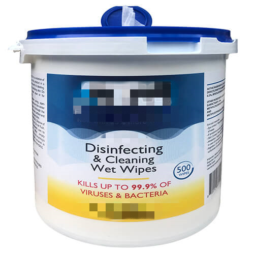 Disinfecting Wet Wipes, Surface Sanitizing, 500 Wipes Per Tub