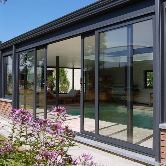 Residential Aluminum Patio Glass Sliding Doors