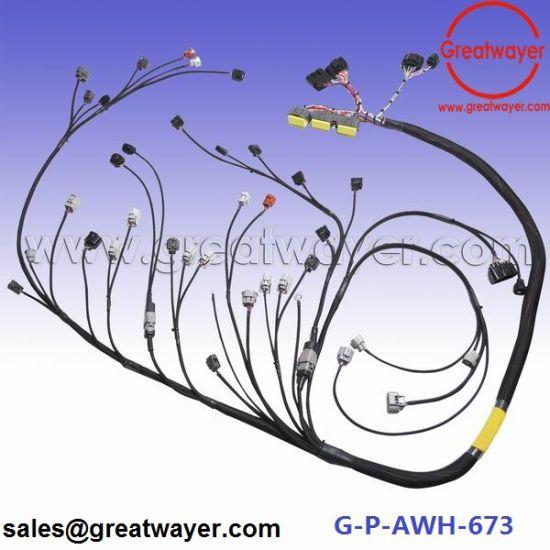 China Toyota 2jzgte Mesh Engine Wiring Harness 14 Years Experience Rhgreatwayerenmadeinchina: 2jz Gte Wiring Harness At Gmaili.net