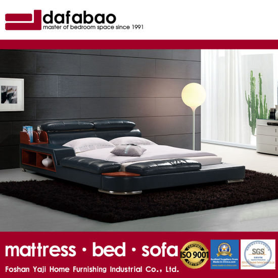 New Style Modern Tatami Leather Bed For Bedroom Use Fb8142