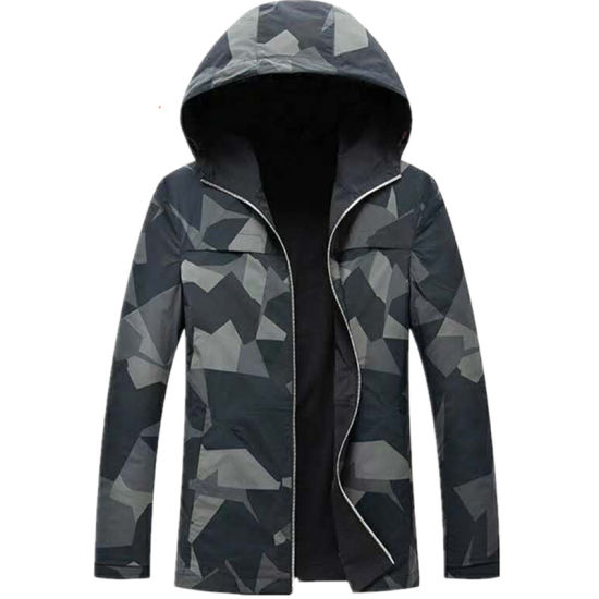 Windproof Heated Working Jacket for Snow Ski Hunting Cycling Mountaineering Men and Woman Battery Heating Warming Winter Two Sides Jackets pictures & photos