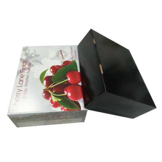 Top & Base Custom Packaging Box for Fruits pictures & photos