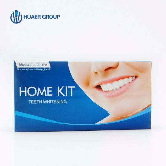 Beautiful Smile Teeth Whitening Home Kit with Mini LED Light pictures & photos