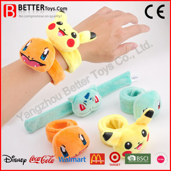 Best Stuffed Animals For Boy, 2019 New Promotion Gift Slap Bracelet Soft Plush Kids Toy China Pokemon Toy And Pikachu Toy Price Made In China Com