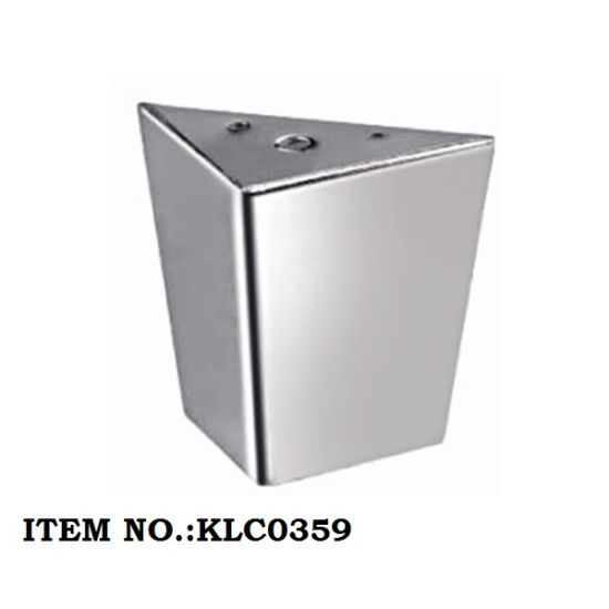 Chrome Metal Furniture Sofa Base Table Bed Leg L90*W140*H105mm