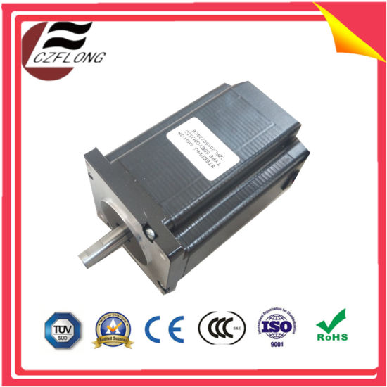 4-lead wire nema34 cnc stepper/brushless dc motor for robot/sewing machine