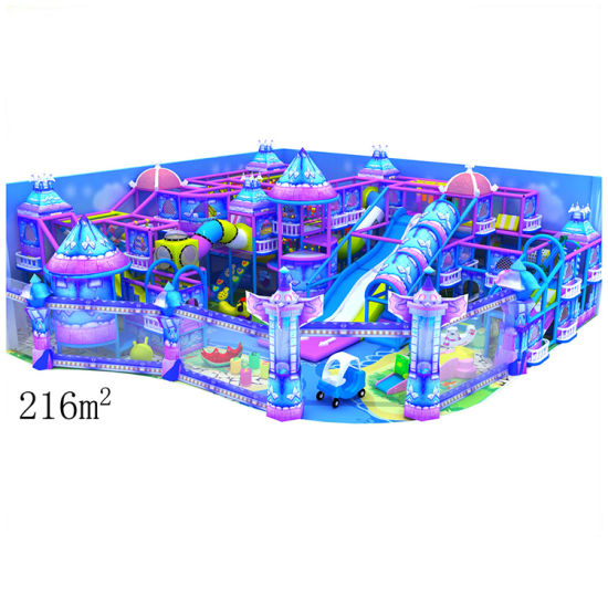 Promotion Kid′s Zone Indoor Soft Playground Equipment pictures & photos