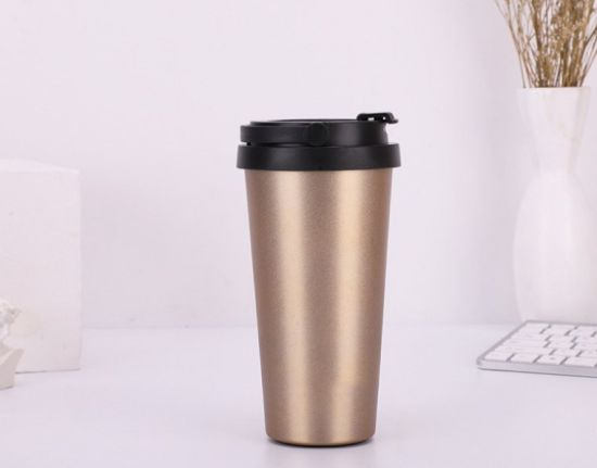 Fashion 500ml Stainless Steel Vacuum Cup Coffee Tea Thermos Mug Thermal Bottle Thermocup Travel Drink Bottle