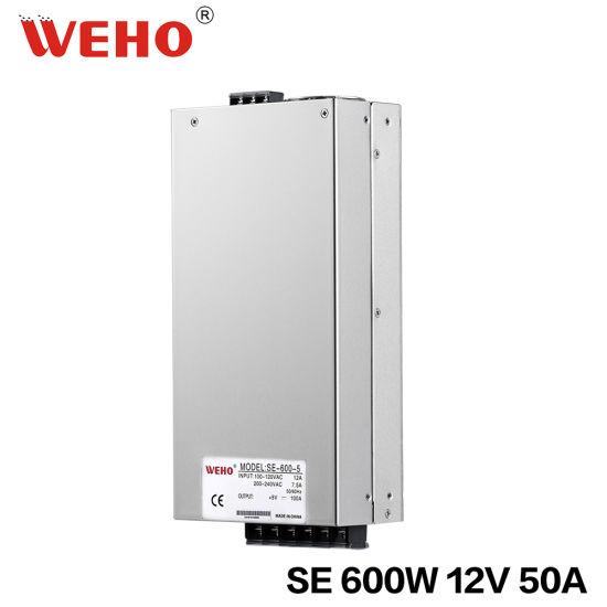 China AC Input Adjust by Switch SE-600W 12V SMPS - China Switching ...