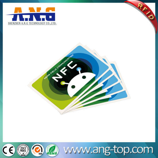 Hf RFID Programmable NFC Smart Sticker pictures & photos