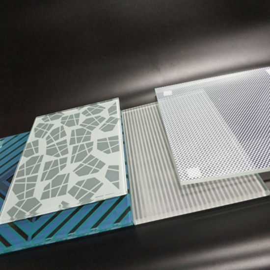 Widely Used Tempered Decorative Printed Custom Color Decorated Tempered Modern Silk-Screen Printing Glass