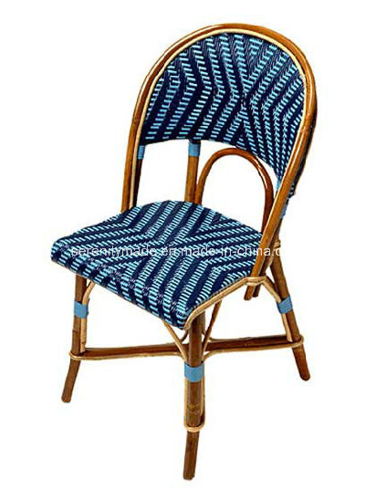 Bon French Style Alumininum Rattan Outdoor Parisian Bistro Cafe Chairs