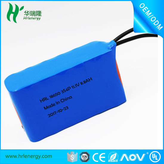 Rechargeable Lithium Ion 12V 2000mAh Lithium Li-ion Batteries Pack pictures & photos