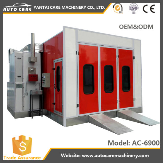 Bake Oven Paint Booth Electric Heating Spray Booth