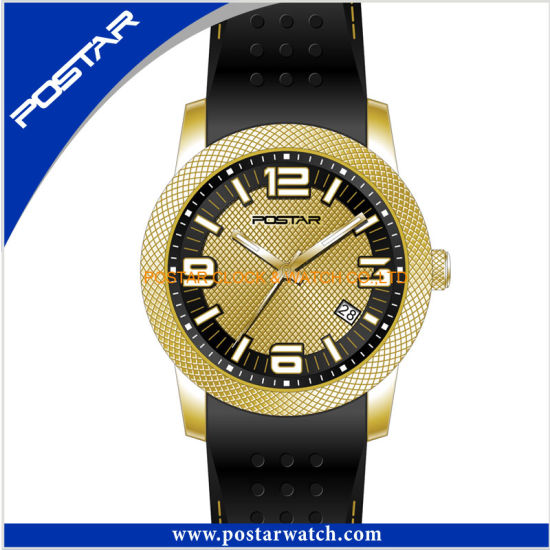 New Designed Quartz Watch with Silicone Watch pictures & photos