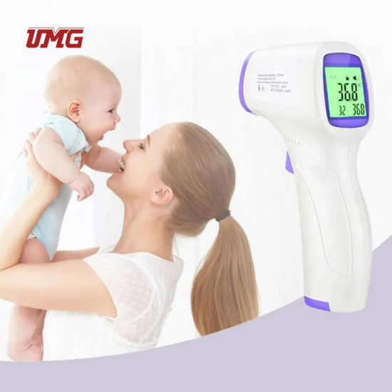 Non-Contact Temperature Gun for Kids/Adults Fever Detect Indicator Forehead Thermometer