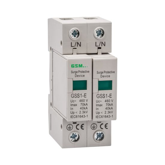 Surge Protector, Surge Arrester, Surge Protective Device, Lighting Protector Gss1-E 2p pictures & photos