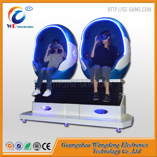 110 Movies Electric 9d Vr Egg Cinema with 3 Glasses pictures & photos