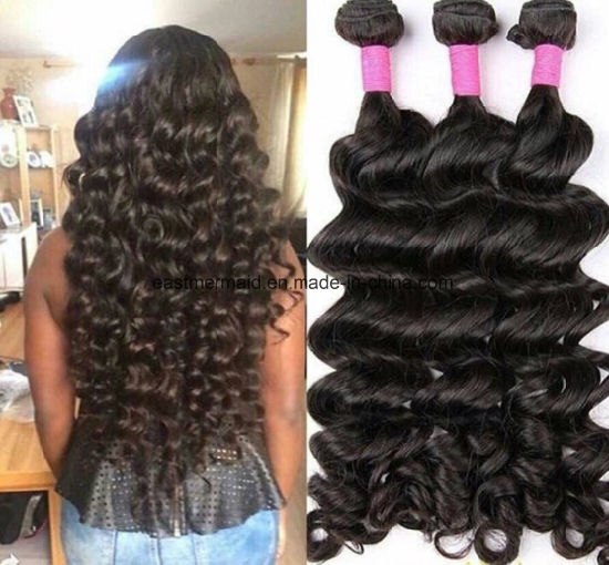 China Free Sample Wholesale Peruvian Virgin Hair Bundles