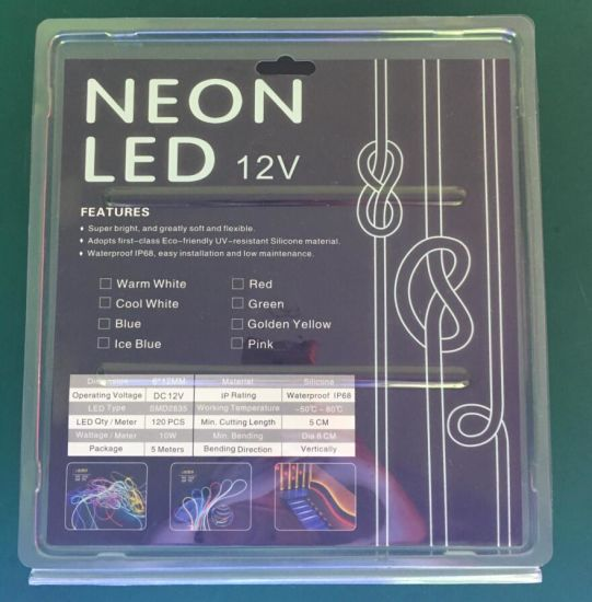 Small Size 6mm Silicon Neon Flex for Advertisement Logo Use