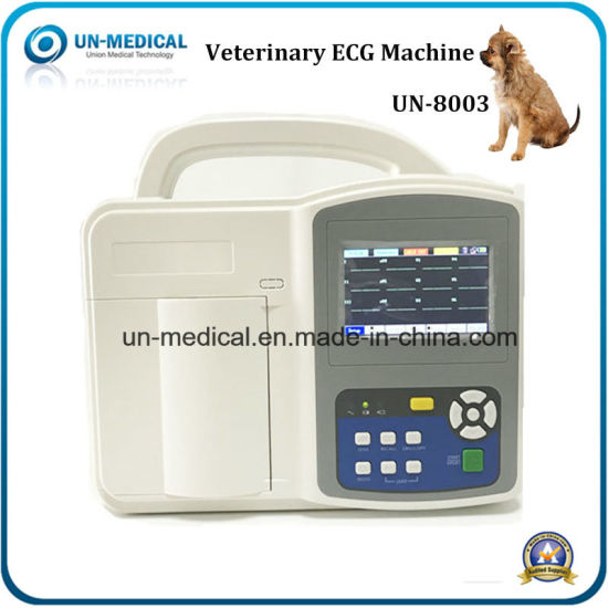 Portable Medical Digital Electrocardiograph/ECG Monitor pictures & photos