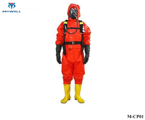 M-Cp01 Fireman Fire Resistant Fighting Clothes Fireproof Clothing Suit