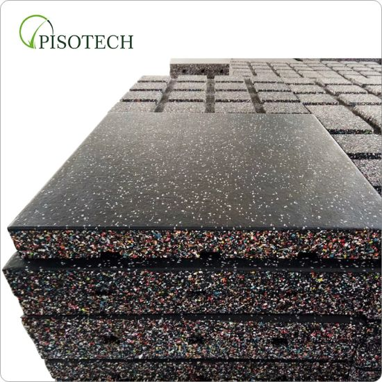 Composite Rubber Mat EPDM Sports Mat Protective Gym Rubber Flooring for Gym Rubber Cushion