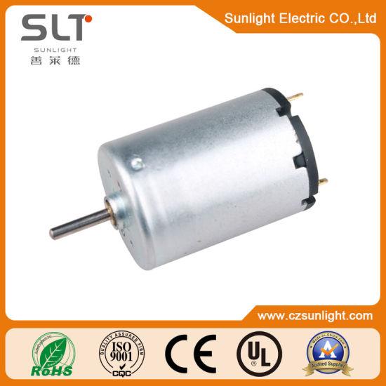 6V 12V 15V Electric Brush DC Motor for Home Appliance