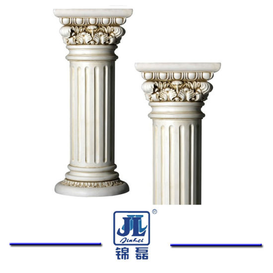 Natural Polished Granite Roman Pillar Column & Marble Roman Pillar Column for Home Decoration/ Building Material/Indoor Decoration