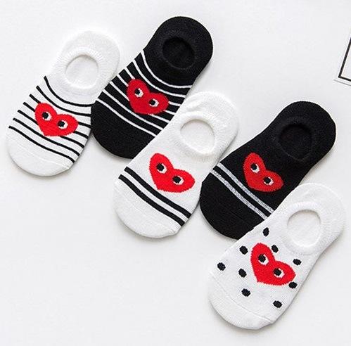 New Cute Kids Short Socks Fashion Jacquard Pattern Children Cartoon Socks