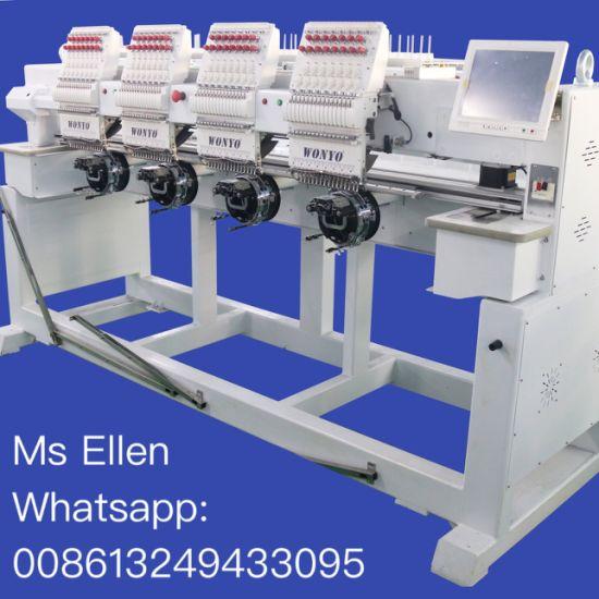 Computerized High Speed Tajima Embroidery Machine with 4 Head Wy1504CH