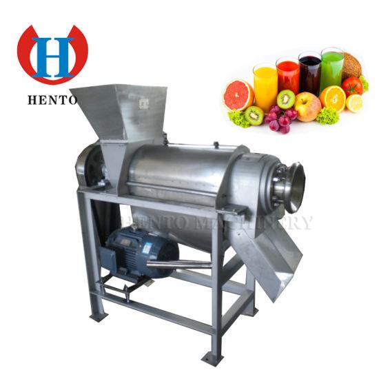 High Capacity Industrial Screw Fruit Juice Machine For Sale