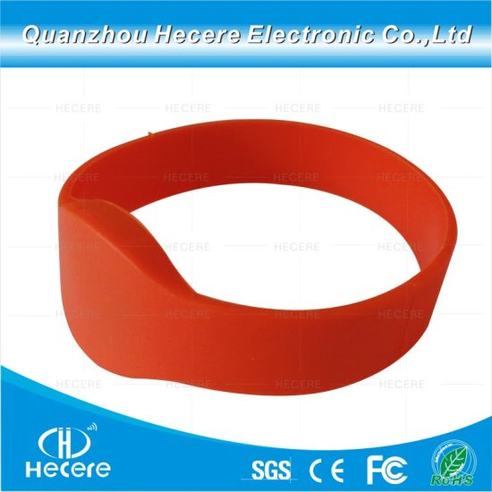 graphic regarding Printable Wristbands called China Drinking water Evidence Personalized Printable RFID Silicone Wristbands
