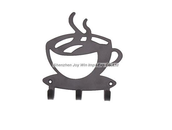 China Modern Style Coffee Mug Shape, Decorative Wall Mounted Key ...