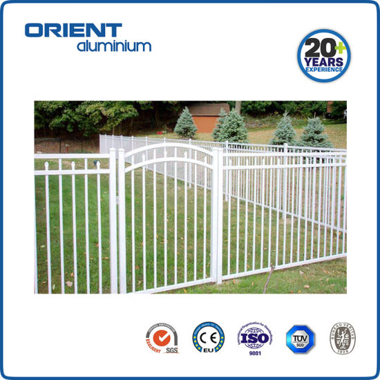 Hot Sale Ornamental Garden Fence Metal Fence Aluminum Good Quality