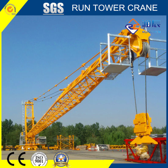 5522-12 Luffing Tower Crane with 55m Jib for Construction Engineering