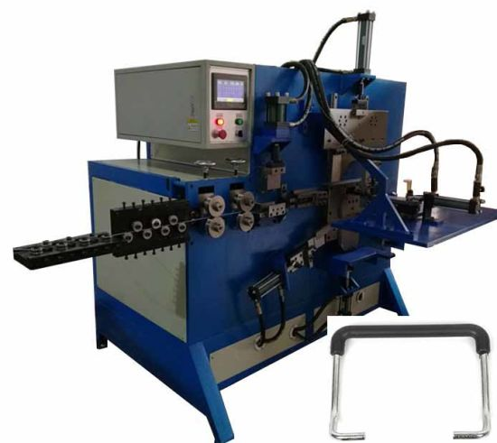 Fully Automatic Hydraulic Metal Bucket Handle Making Machine for Side Handle