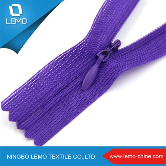 Custom 3# Invisible Zipper for Dress