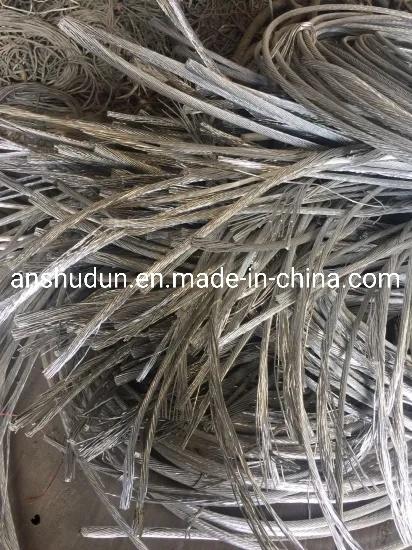 Scrap Aluminium Wire High Quality Direct Selling 99.92