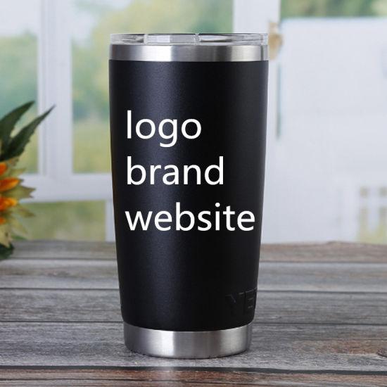 Laser Custom Logo Eengraving Machine 20oz Cups Travel Mugs