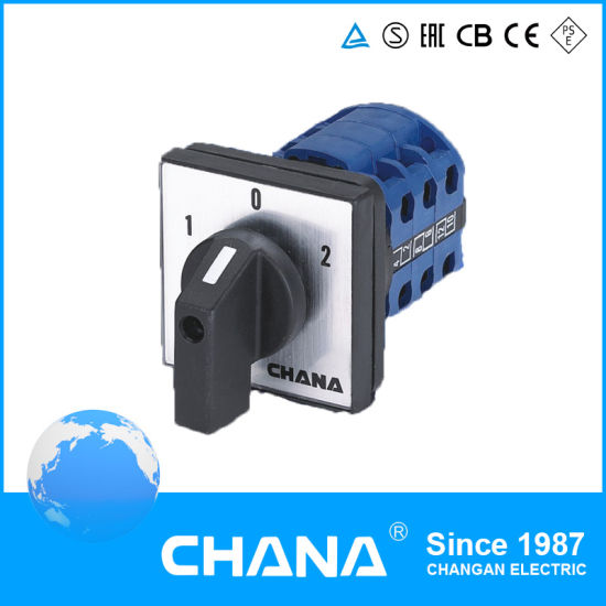 Industrial Contral Lw26-25 Rotary Switch with Ce Approval
