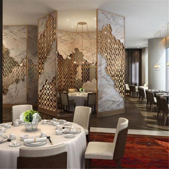 China New Design Aluminum Hotel Lobby Room Interior Decorative