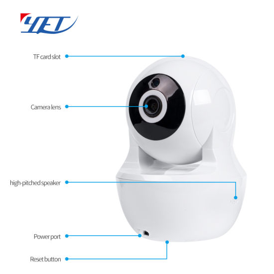 Yet Company WiFi Camera Used for Indoor Security Control System Wy03