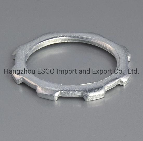 Steel Rigid Locknut Pipe Fitting