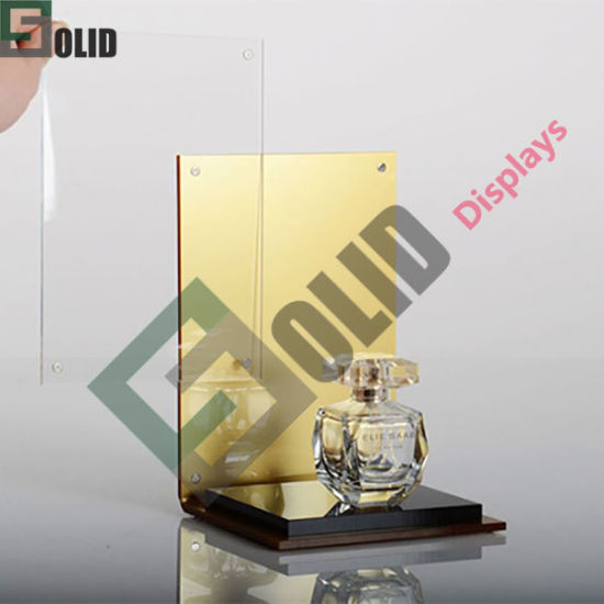 Customized Flooring Stand Store Cosmetic Counter Professional Display Cabinets Skincare Rack Advertising Showcase
